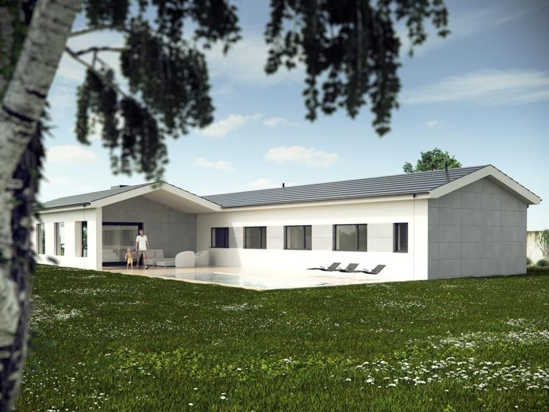 A bra a laracha aestudio arquitectos coru a - Modelos de casas de planta baja ...