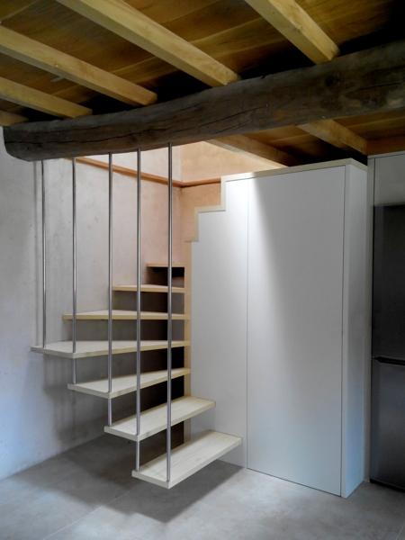 O sisto santiago aestudio arquitectos coru a for Detalle escalera volada